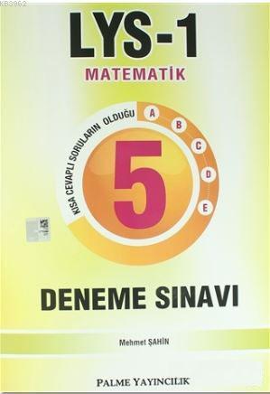 LYS 1 Matematik 5 Deneme Sınavı