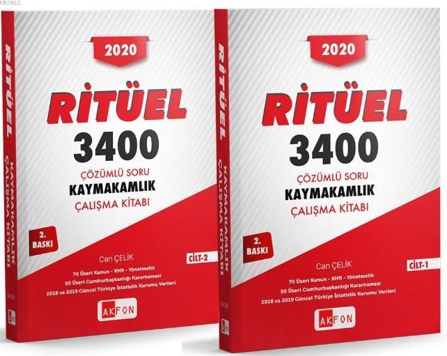 Ritüel 3400 Çözümlü Soru Bankası; 2 Cilt