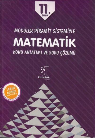 Karekök Yayınları 11. Sınıf Matematik Konu Anlatımı ve Soru Çözümü