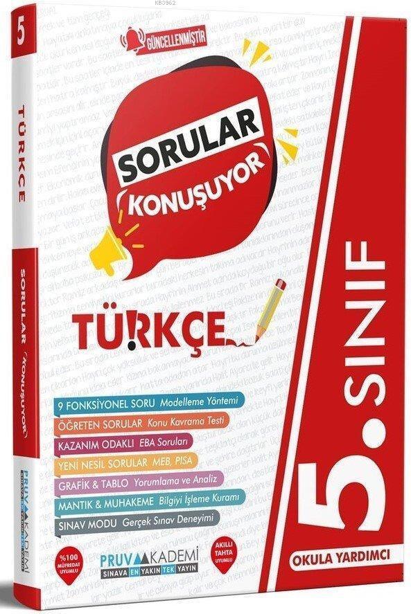 Pruva 5.Sınıf Türkçe Sorular Konuşuyor 2021