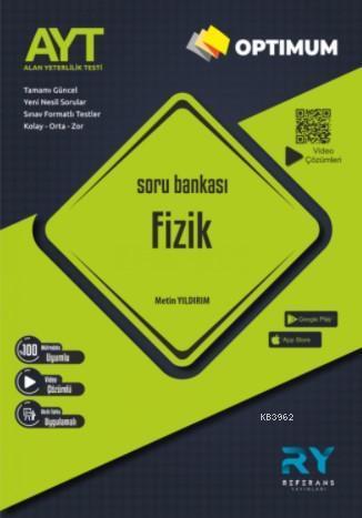 Referans Optimum AYT Fizik Soru Bankası Video Çözümlü 2021