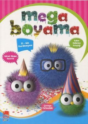 Mega Boyama (Renkli Örnekli, Örneksiz, Çizgi Çalışması)