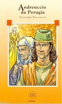 Andreucio da Perugia; (Livello-1) 600 parole -İtalyanca okuma kitabı