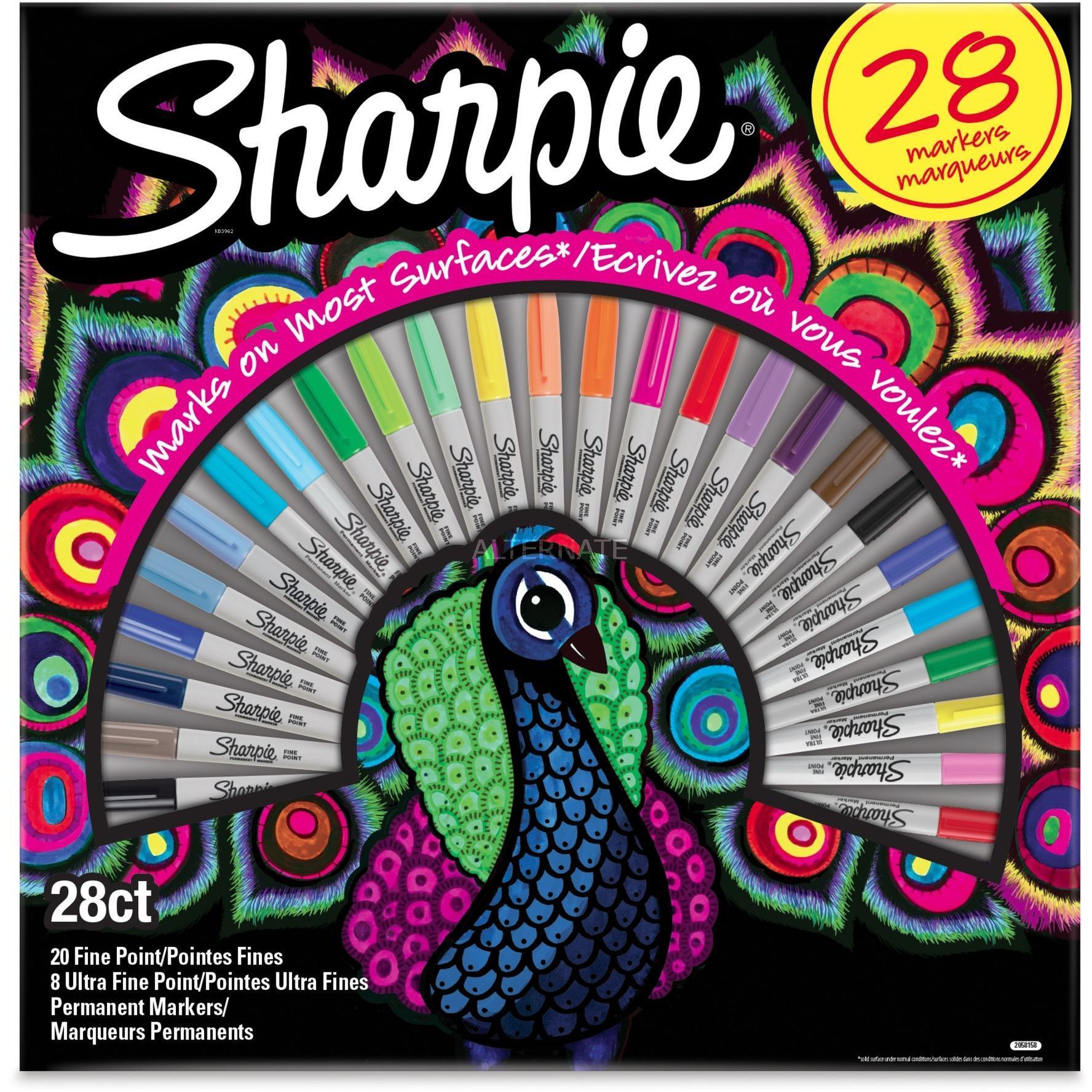 Sharpie 2058158 Fine Permanent Markör 28`li