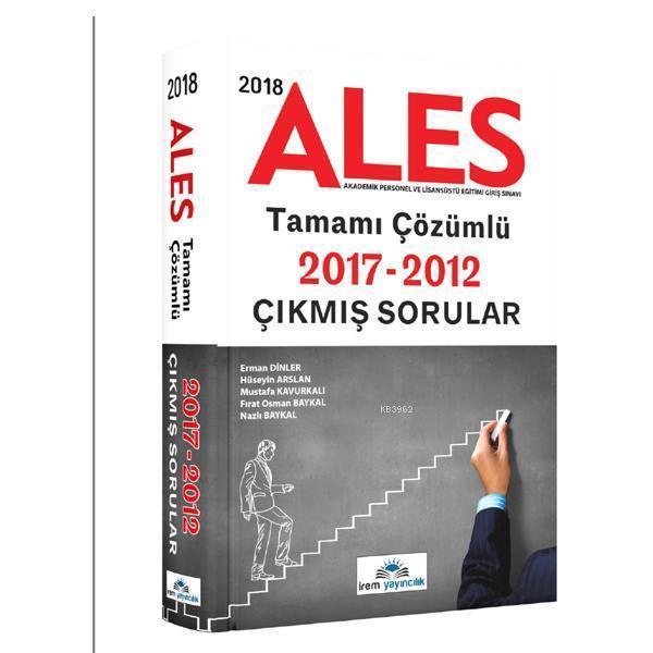 2018 ALES Tamamı Çözümlü 2017 2012 Çıkmış Sorular