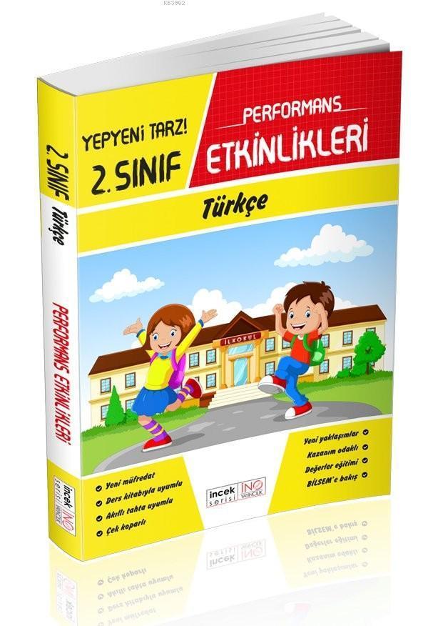 İnovasyon Yayınları 2. Sınıf Türkçe Performans Etkinlikleri İnovasyon
