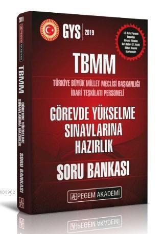 TBMM İdari Teşkilatı Personeli Görevde Yükselme Sınavlarına Hazırlık Soru Bankası