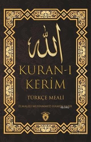 Kuran-ı Kerim; Türkçe Meali