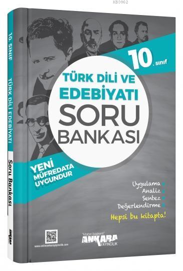 Ankara Yayınları 10. Sınıf Türk Dili ve Edebiyatı Soru Bankası Ankara
