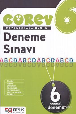 Nitelik Yayınları 6. Sınıf Görev Deneme Sınavı Nitelik