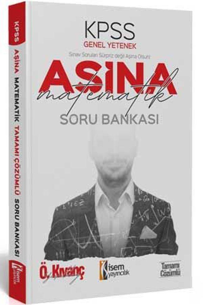 İsem Yayınları KPSS Matematik Aşina Soru Bankası