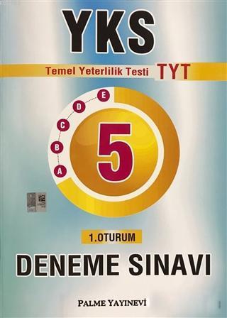 Palme YKS TYT 5 Deneme Sınavı