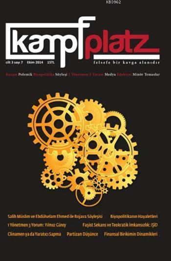 Kampfplatz Cilt:3 Sayı:7; Ekim 2014