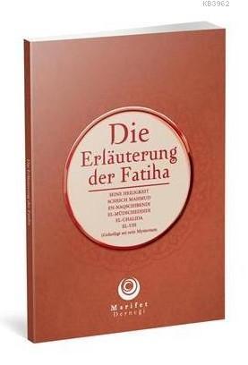 Fatiha Tefsiri Almanca Karton Kapak