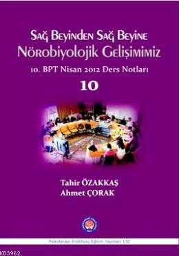 Sağ Beyinden Sağ Beyine Nörobiyolojik Gelişimimiz; 10. BPT Nisan 2012 Ders Notları 10