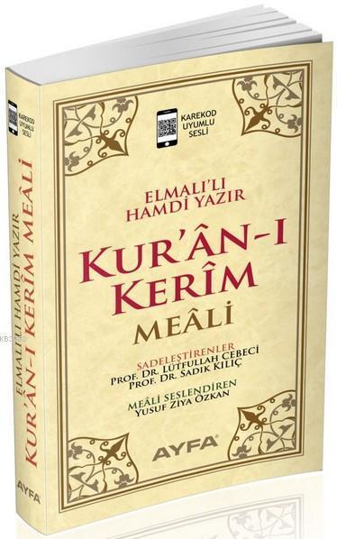 Kur'ân-ı Kerim Meali (Ayfa-108, Cep Boy, Kare Kodlu, Sesli)