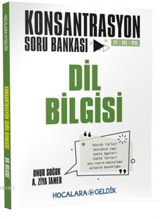 Hocalara Geldik Yayınları Dil Bilgisi Konsantrasyon Soru Bankası Hocala