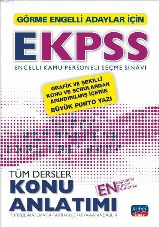 Görme Engelliler İçin EKPSS Konu Anlatımı / Türkçe-Matematik-Tarih-Coğrafya-Vatandaşlık
