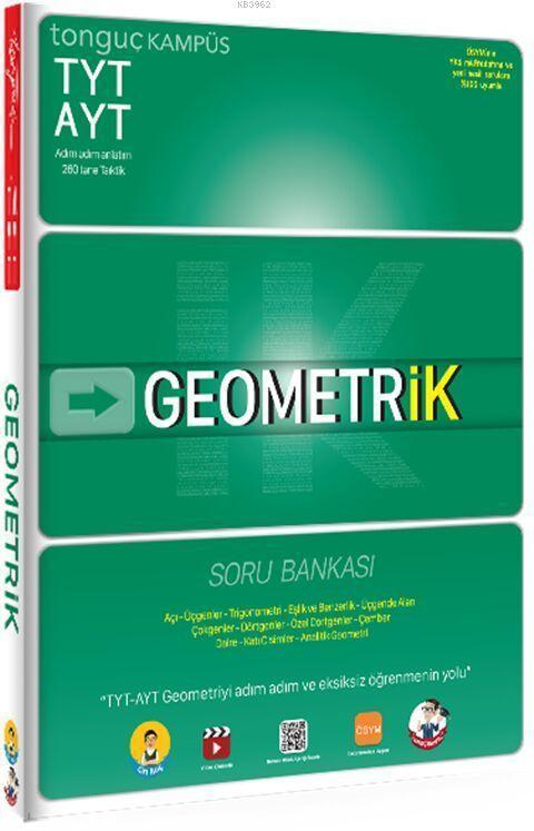 Tonguç Yayınları TYT AYT Geometrik Soru Bankası Tonguç