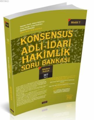 Konsensus Adli İdari Hakimlik Medeni Hukuk Soru Bankası