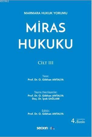 Miras Hukuku; Cilt: III