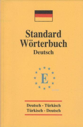 Standard Wörterbuch Deutsch Almanca Sözlük