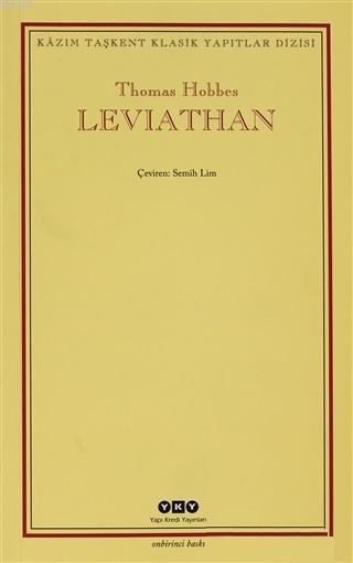 Leviathan; Bir Din ve Dünya Devletinin İçeriği, Biçimi ve Kudreti