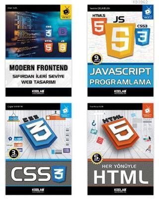 Modern Web Tasarım Seti (4 Kitap Takım)