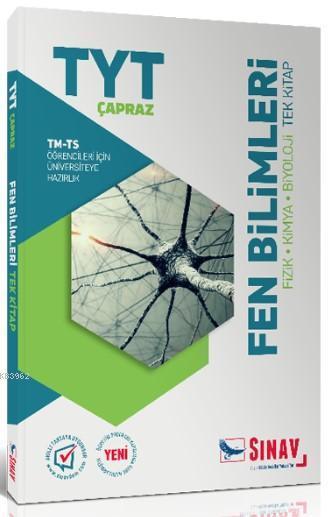 Sınav Yayınları TYT Çapraz TM TS Öğrencileri İçin Fen Bilimleri Tek Kitap Sınav