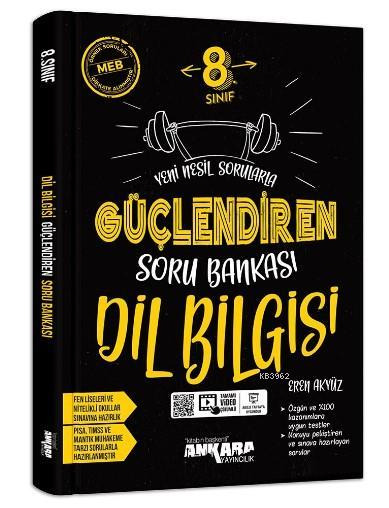 8.Sınıf Güçlendiren Dil Bilgisi Soru Bankası Ankara Yayıncılık