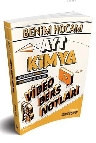 2020 AYT Kimya Video Ders Notları Benim Hocam Yayınları