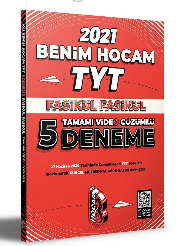 TYT Fasikül Fasikül Tamamı Video Çözümlü 5 Deneme Sınavı Benim Hocam Yayınları