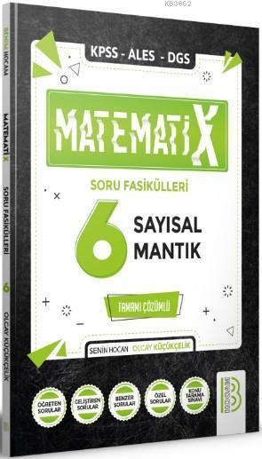 Benim Hocam Yayınları 2021 KPSS ALES DGS MatematiX Soru Fasikülleri 6