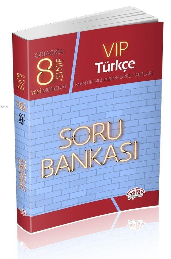 8. Sınıf Vıp Türkçe Soru Bankası