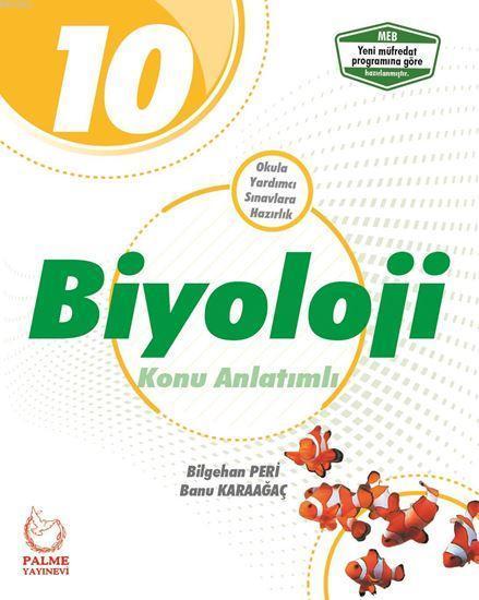10. Sınıf Biyoloji Konu Anlatımlı YENİ