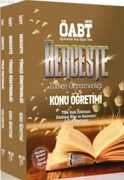 ÖABT Berceste Türkçe Öğretmenliği Konu Anlatımlı Modüler Set   2018