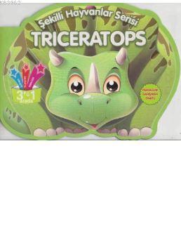 Triceratops - Şekilli Hayvanlar Serisi
