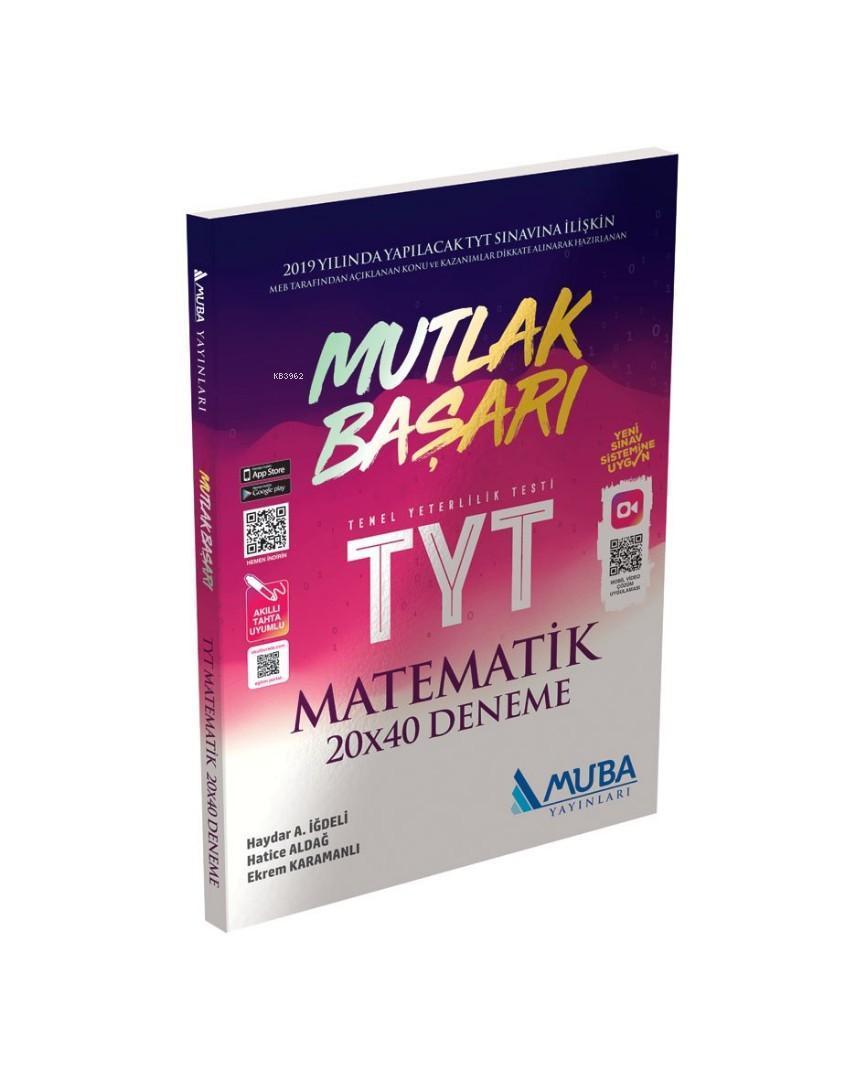 Muba Yayınları TYT Matematik Mutlak Başarı 20 x 40 Deneme Muba