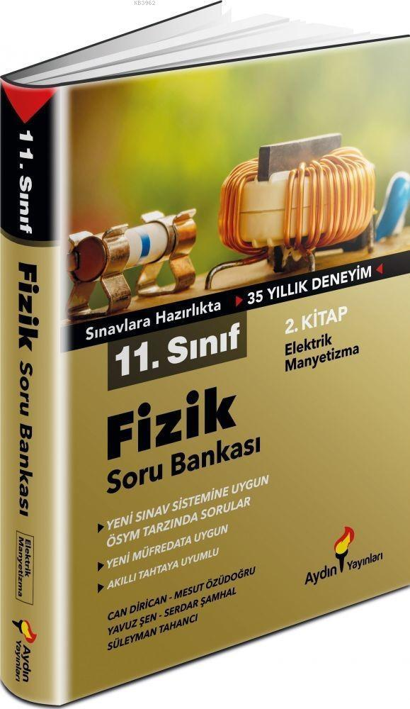 Aydın Yayınları 11. Sınıf Fizik Soru Bankası 2. Kitap Aydın