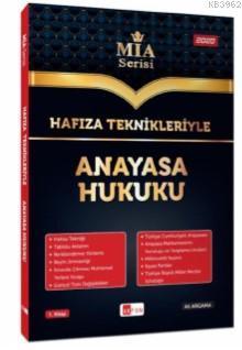 Hafıza Teknikleriyle Anayasa Hukuku MİA Serisi Ali Argama Akfon Yayınları 2020; Tüm Kurum Sınavları İçin