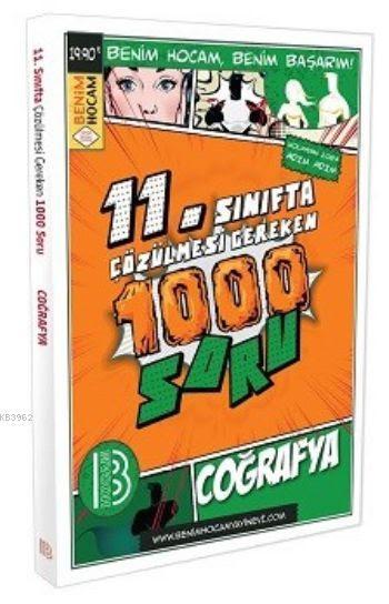 11. Sınıf Coğrafya Çözülmesi Gereken 1000 Soru