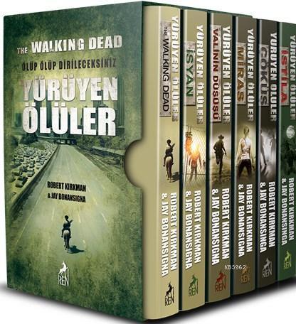 Yürüyen Ölüler Set (5 Kitap, Kutulu)