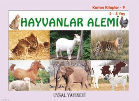 Karton Kitaplar - 9 - Hayvanlar Alemi