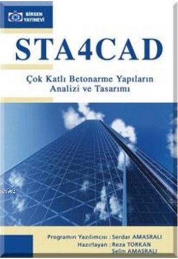 STA4 CAD Çok Katlı Betonarme Yapıların Analizi ve Tasarımı