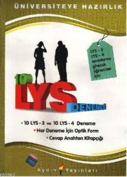 LYS Denemeleri; 10 LYS 3 ve 10 LYS 4 Deneme